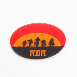 Gaming Displays Red Dead Redemption 2 Printed Acrylic Coaster