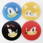 Sonic The Hedgehog Gaming Coasters