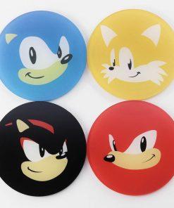 Sonic The Hedgehog Sega Gaming Coasters