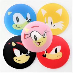 Sonic The Hedgehog Printed Acrylic Gaming Coasters