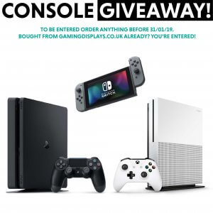Gaming Displays console giveaway image