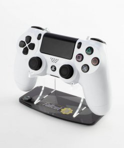 Printed controller stand for the PlayStation 4 with a Fallout 76 design made to compliment the Kustom Kontrollers bespoke controller