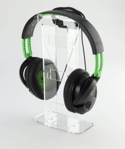 Solo Acrylic Headset or Headphone Display Stand