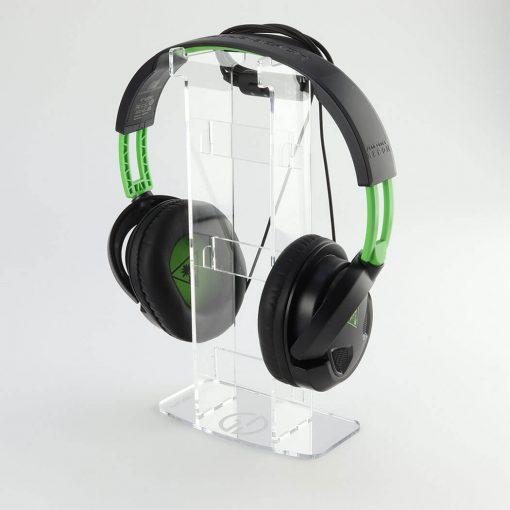 Solo Acrylic Headset or Headphone Display Stand