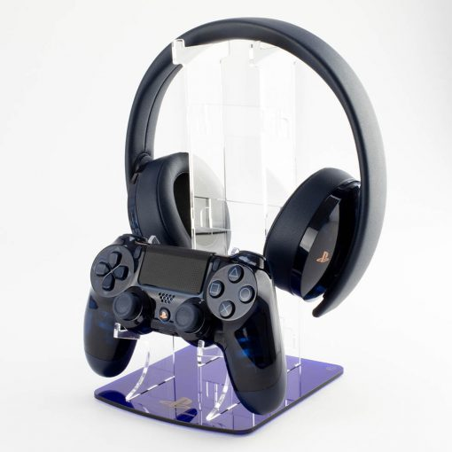 PS4 500 Million Limited Edition Dual Controller and headset stand