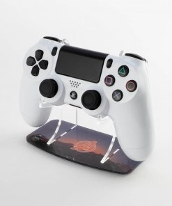 Printed PS4 Controller stand designed to complimentthe Kustom Kontrollers Avengers controller