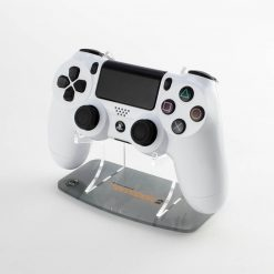 Printed acrylic display stand for a PS4 controller designed to compliment the Kustom Kontrollers Division 2 Controller