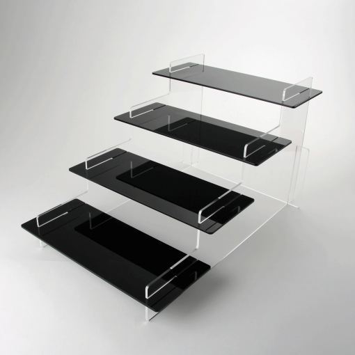 4 Tier Acrylic Display Stand