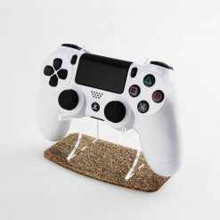 Gold Glitter PlayStation 4 Controller Display Stand