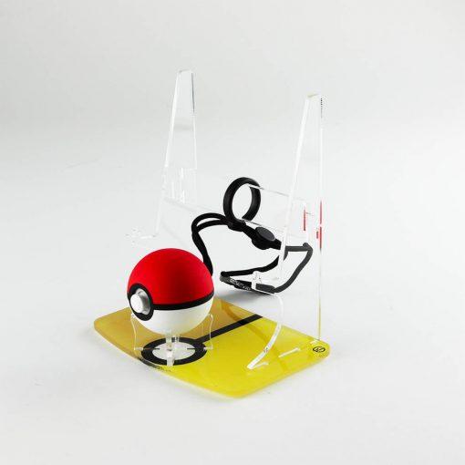 Pokemon themed Pokeball Plus & Nintendo Switch Console Printed Display Stand