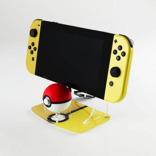 Poké Ball Plus & Nintendo Switch Console Printed Display Stand