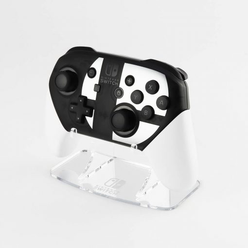 Switch Pro Controller Etched Mirror Stand