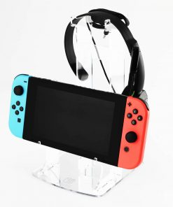 Nintendo Switch Etched Mirror Duall Controller & Headset Display Stand