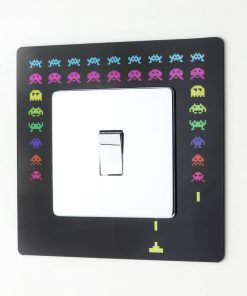 Space Invaders Light Switch Surround