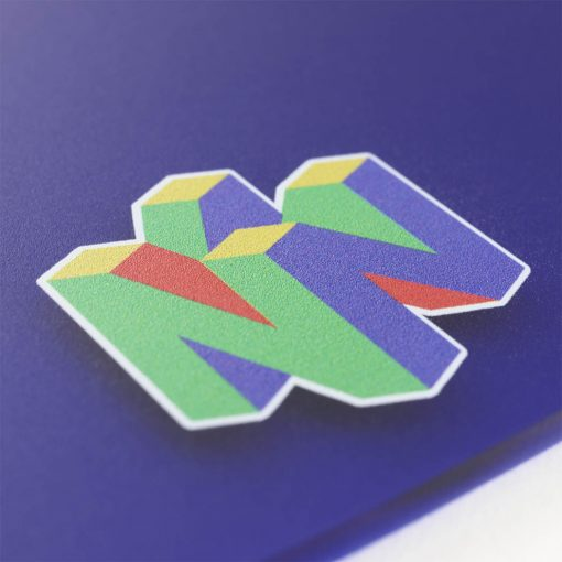 N64 Logo Close Up