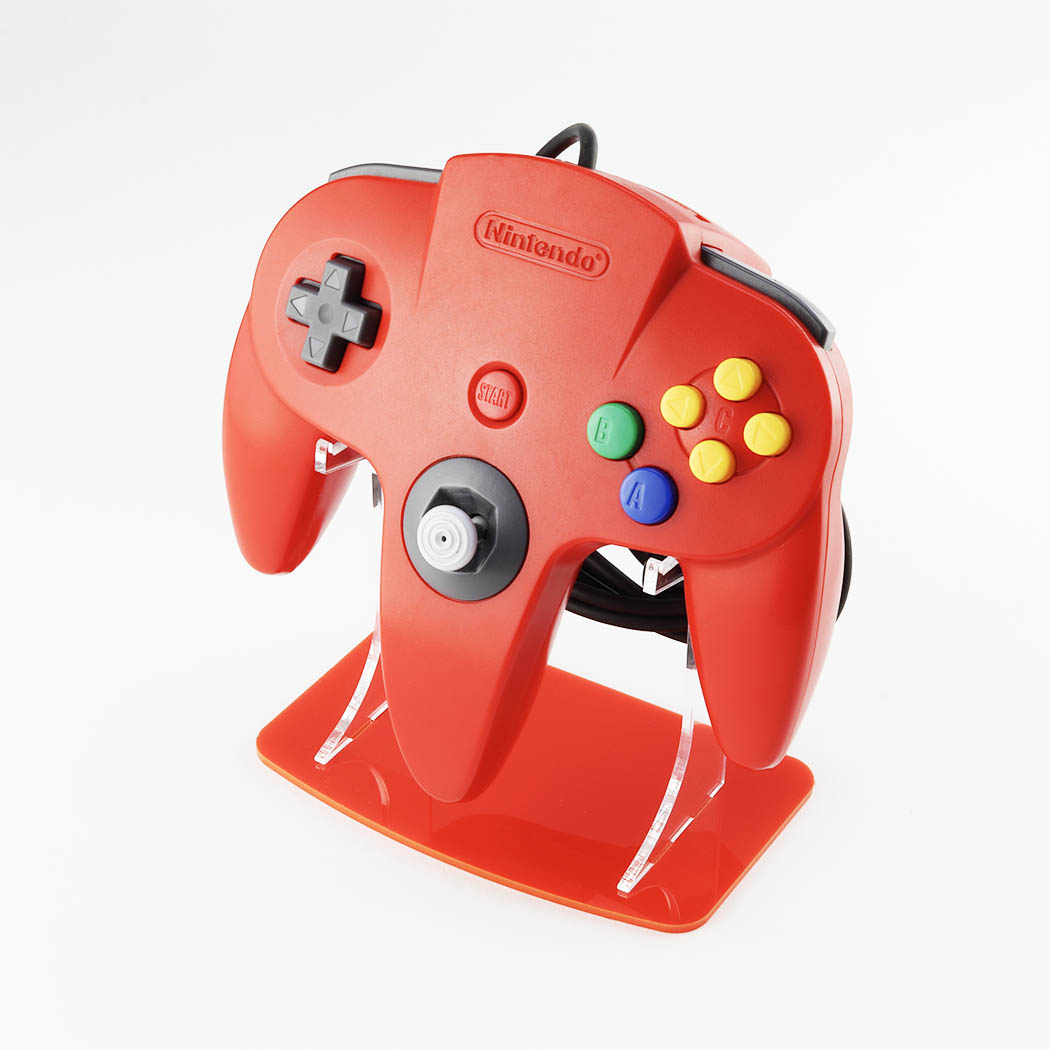 Nintendo 64 Red Controller Stand Gaming Displays