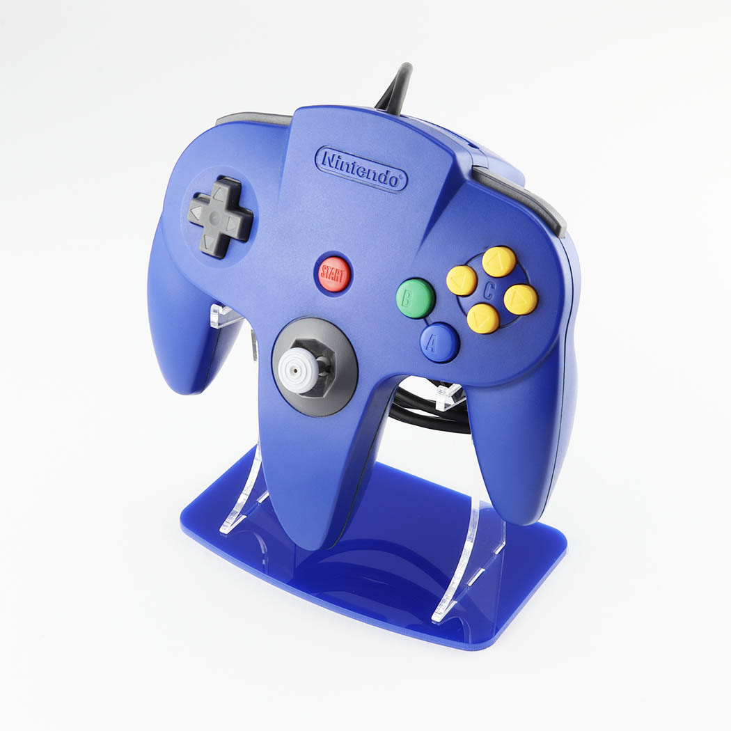 Nintendo 64 Blue Controller Stand