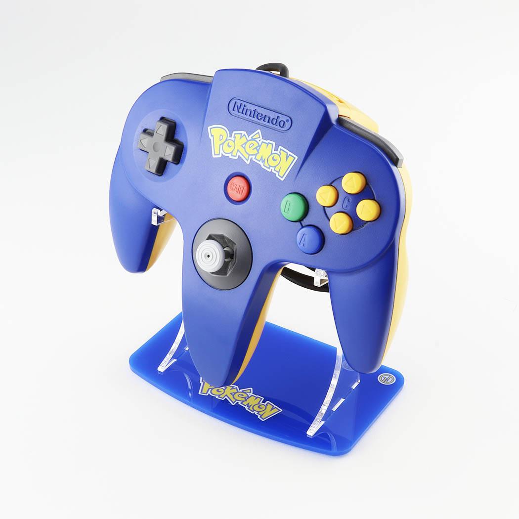 Nintendo 64 Pokémon Pikachu Dark Blue Controller Stand