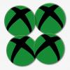 Green Xbox Logo Coaster