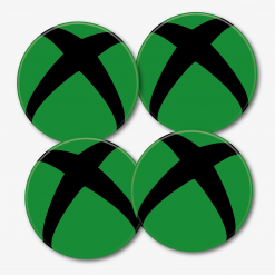 Green Xbox Logo Coaster