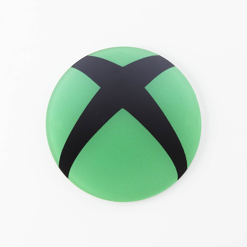 Green Xbox Logo Printed Acrylic Gaming Coaster