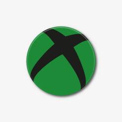 Green Xbox Logo Single Coaster
