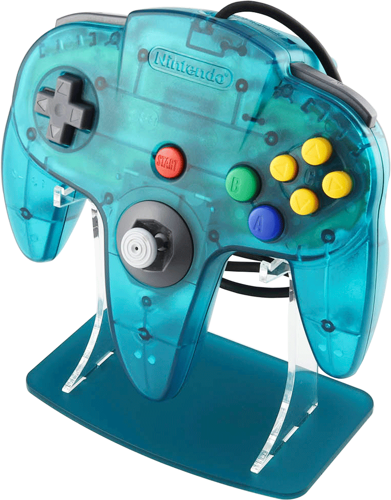 Ice Blue N64 Funtastic Controller