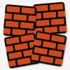 Mario Brick Block Coaster