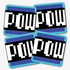 Mario POW Block Coaster