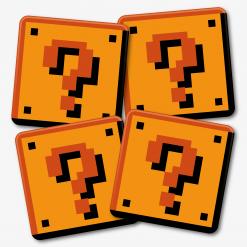 Mario Question Block Coaster