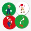 Super Mario Bros Gaming Coasters