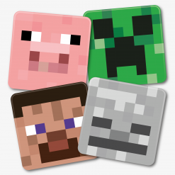 Minecraft Charcater Coaster