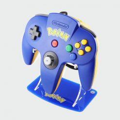 N64 Pokemon Pikachu Dark Blue Stand