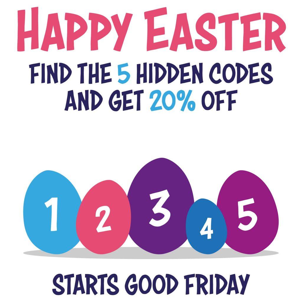 Easter Egg Hunt Discount Code
