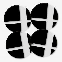 Super Smash Bro's Logo Coaster