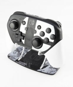 Super Smash Bros Ultimate Greyscale Nintendo Switch Pro Controller