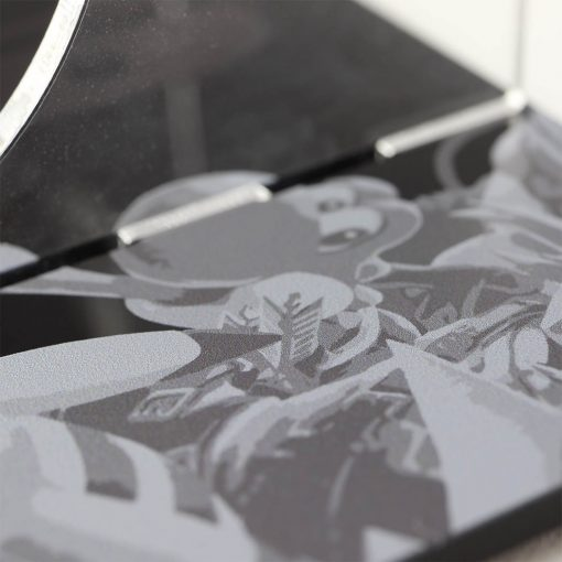 Super Smash Bros. Ultimate Greyscale Close Up