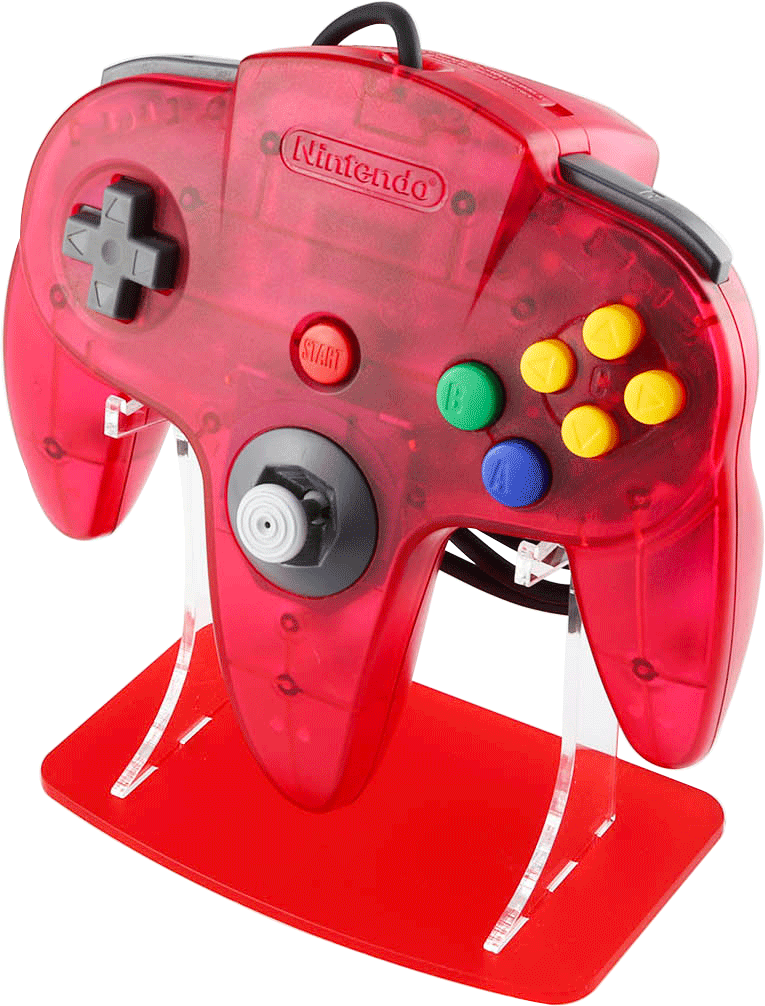 Watermelon Red N64 Funtastic Controller