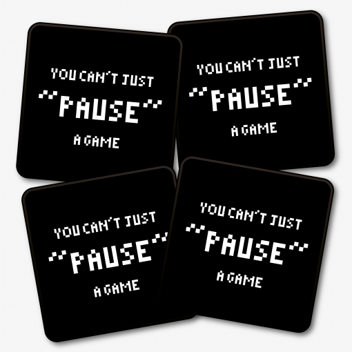 You Can't Just 'Pause' A Game Coaster
