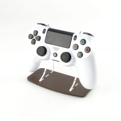 Dark Wood Effect PlayStation 4 Printed Acrylic Controller Display Stand
