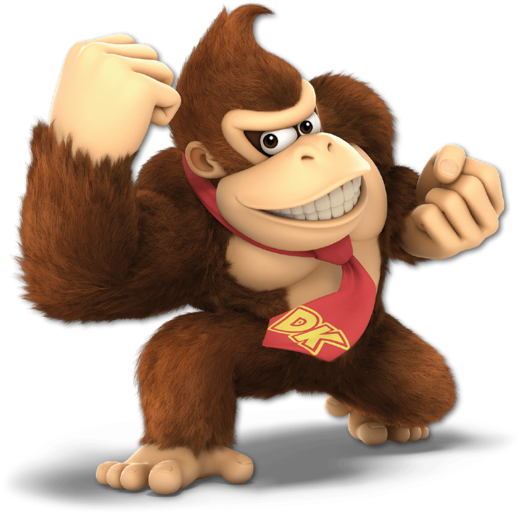 Donkey Kong from Super Smash Bros. Ultimate at Gaming Displays