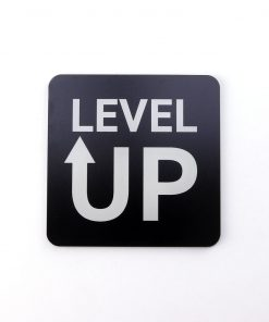 Level Up Printed Acrylic Gaming Coaster