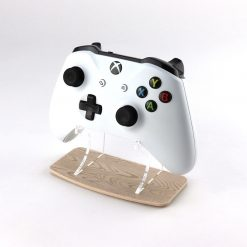Light Wood Effect Xbox One Printed Acrylic Controller Display Stand