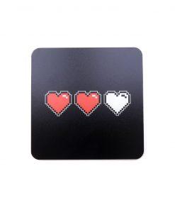 Retro Lives Printed Acrylic Gaming Coaster