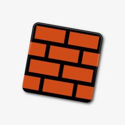 Mario Brick Block Single Coaster