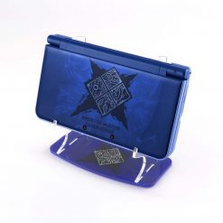 Blue Monster Hunter Generations NEW Nintendo 3DS XL Printed Acrylic Console Display Stand