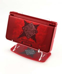 Red Monster Hunter Generations NEW Nintendo 3DS XL Printed Acrylic Console Display Stand