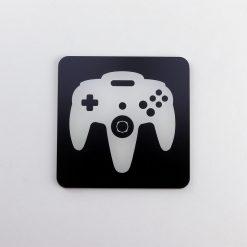Nintendo 64 Controller Printed Acrylic Gaming Coaster