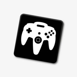 N64 Controller Single Coaster