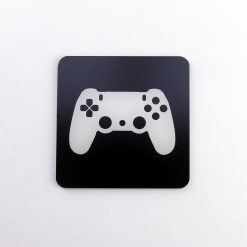 PlayStation 4 Controller Printed Acrylic Gaming Coaster